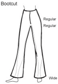 Bootcut trouser guide hazel walker